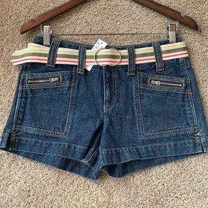 Smart Set- Vintage never worn denim short shorts